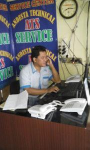 Service AC Pamulang